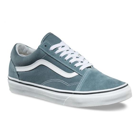 c7e901fc9c66 Vans Old Skool Goblin Blue   White Skate Shoes. M 5ad81e3ea825a6bb2bef1a08